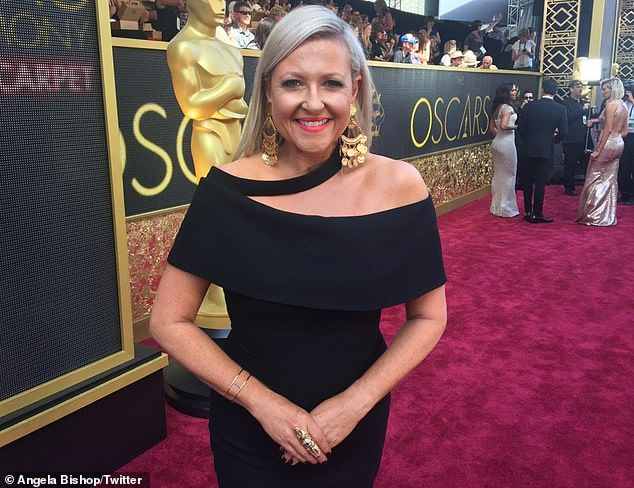 She's coming too! Angela Bishop will be reporting at the Oscars for Channel 10's Studio 10
