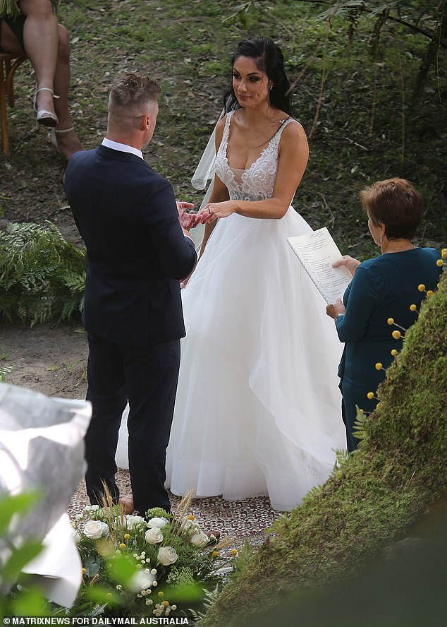 Upcoming star!Daily Mail Australia first revealed on September 11 that Vanessa was going to appear on the show, after she was spotted filming her'wedding' to Chris Nicholls in Sydney