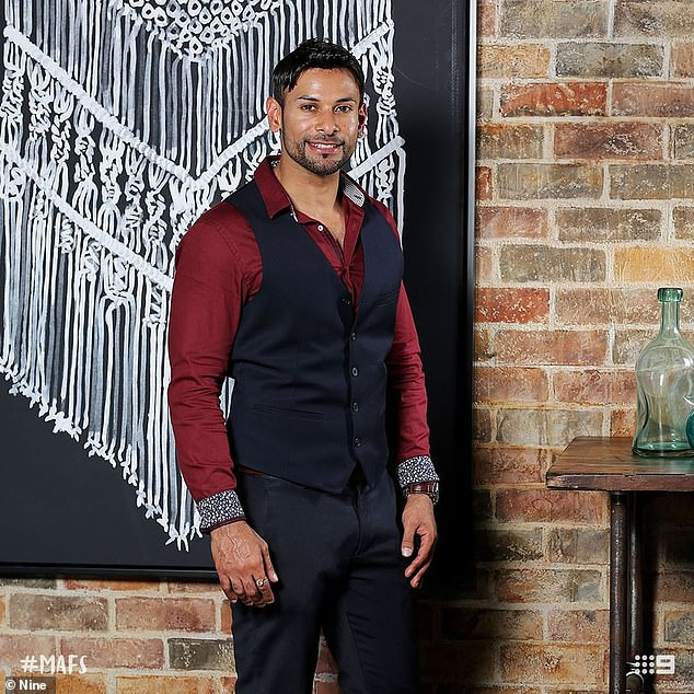 Well connected!Dino Hira, who also starred on MAFS last year, knows two of the new brides