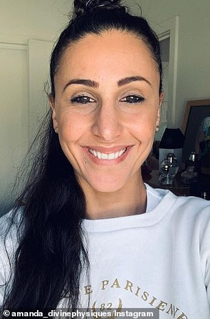 Man about town! He is friends with Aleksandra Markovic, who also lives in Perth, and is about to launch a business with Amanda Micallef (pictured)