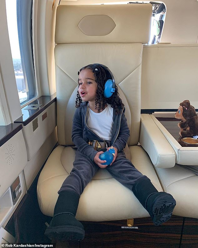 History: In November, Kylie had rented the same helicopter which crashed on Sunday, as a birthday treat for brother Rob Kardashian's daughter