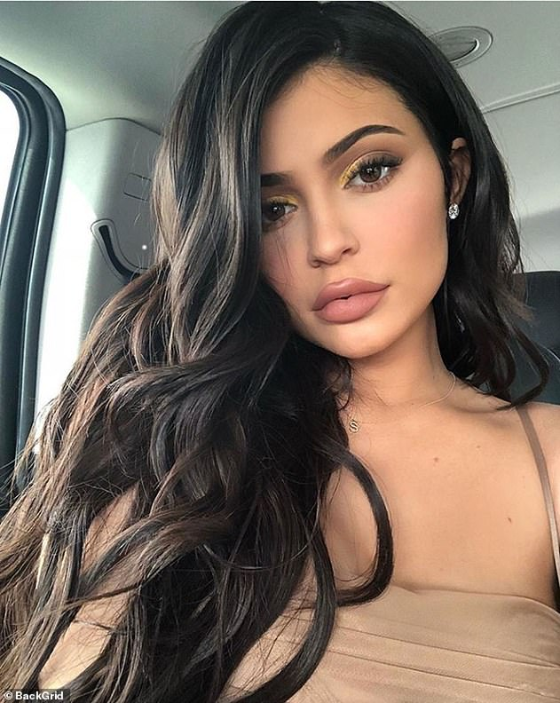 Grieving: Kylie took to social media to share her personal connection to the Kobe Bryant tragedy and revealed that she used to fly on the same helicopter with the same pilot who also perished in the crash