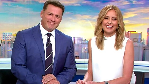 Competition: While Nine's revamped Today show is pulling out all the stops to take down Sunrise, Channel Seven has enjoyed a big win. Pictured: Today's Karl Stefanovic and Allison Langdon