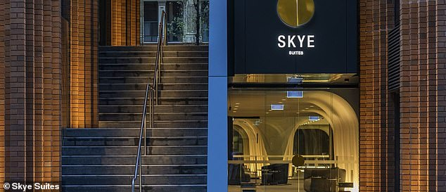 Would you live here?And after filming previous seasons at the Meriton Suites North Sydney, this year the newlyweds were housed at Skye Suites Sydney on Kent Street (pictured)