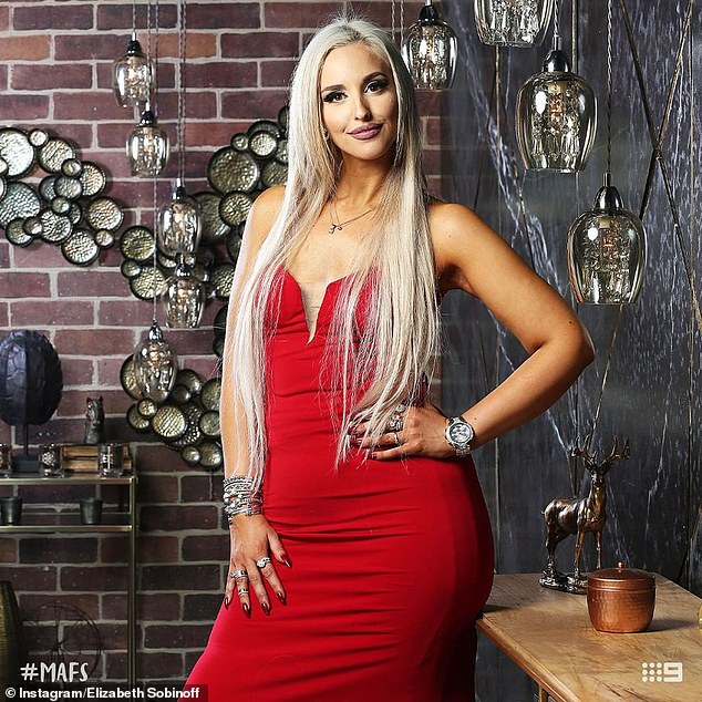 Losing it: After appearing on MAFS last year, Elizabeth slimmed down after being body-shamed by her partner on the show, Sam Ball