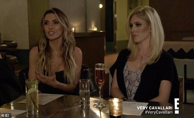 Together again: Audrina Patridge and Heidi Montag came out to Nashville to visit Kristin