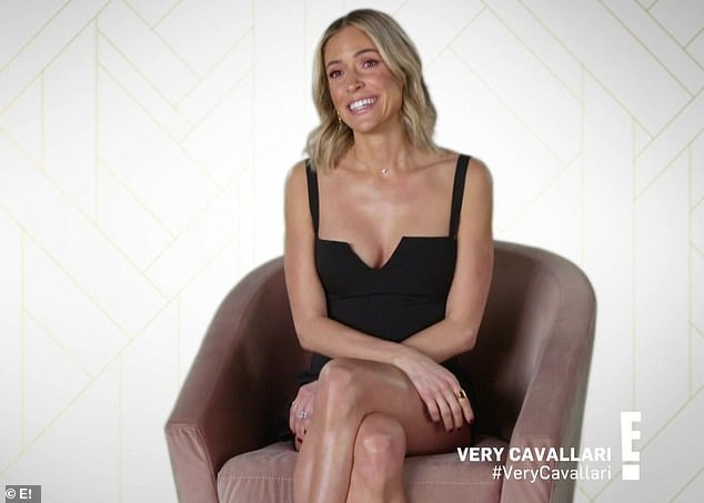 Sure did: Kristin confirmed in a confessional that she dated a cameraman