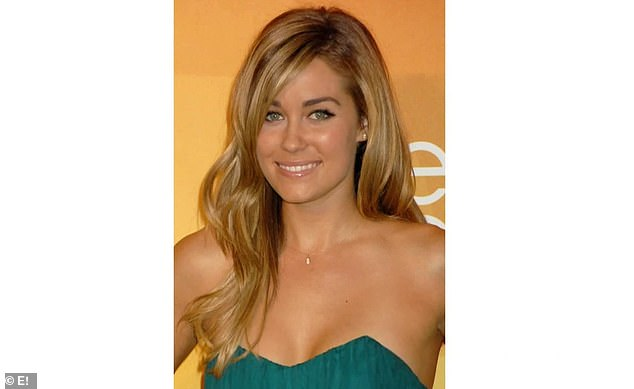 Show star: Lauren starred in The Hills before leaving midway through the fifth season and was replaced by Kristin